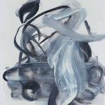 Sem título - 2013 - acrílica, nanquim e carvão sobre tela - 50 x 40 cm
