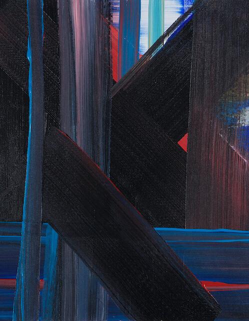 Sem título - 2013 - acrílica sobre tela - 50 x 40 cm