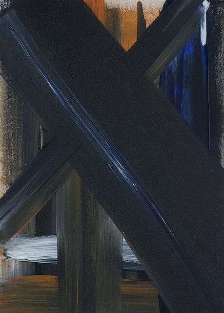 Sem título - 2013 - acrílica sobre tela - 50 x 36 cm