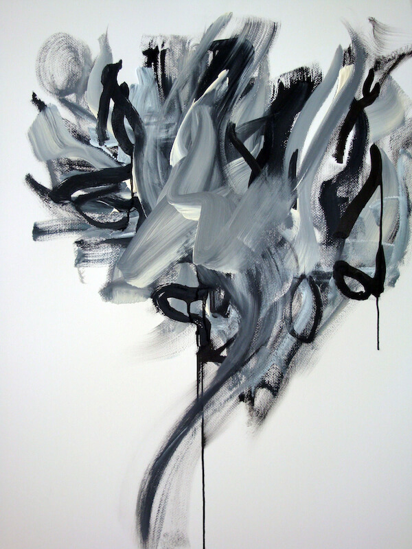 Sem título - 2013 - acrílica sobre tela - 70 x 60 cm