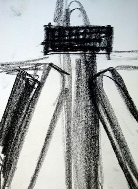 Sem título - 2013 - grafite sobre papel - 21 x 14 cm
