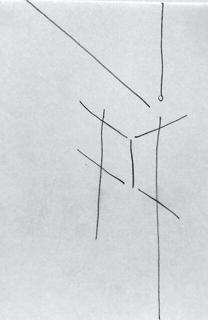 Sem título - 2017 - grafite sobre papel - 21 x 14 cm