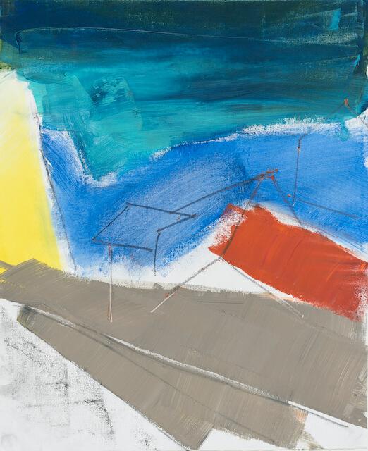Sem título - 2018 - acrílica sobre tela - 48 x 41 cm