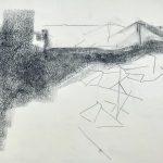 Sem título - 2018 - grafite e carvão sobre papel - 22 x 28 cm