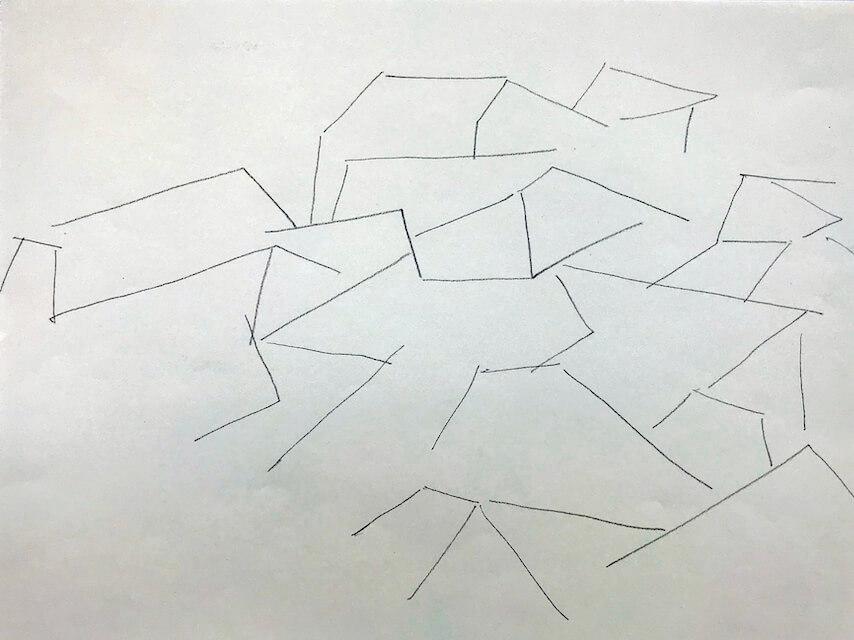 Sem título - 2018 - grafite sobre papel - 22 x 28 cm