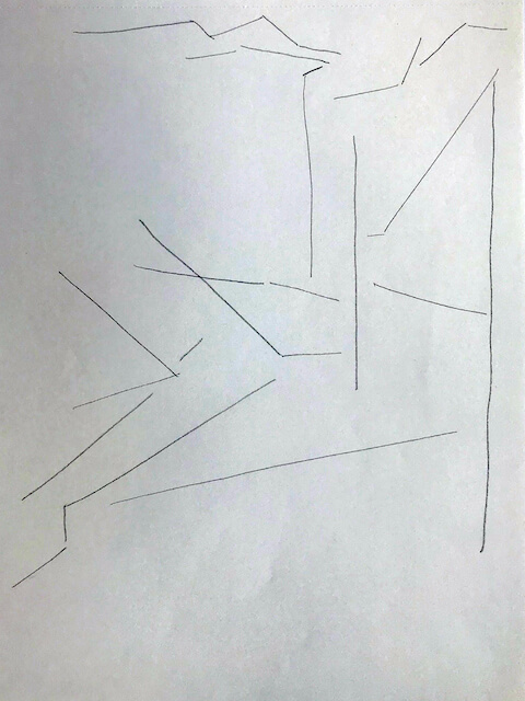 Sem título - 2018 - grafite sobre papel - 28 x 21 cm