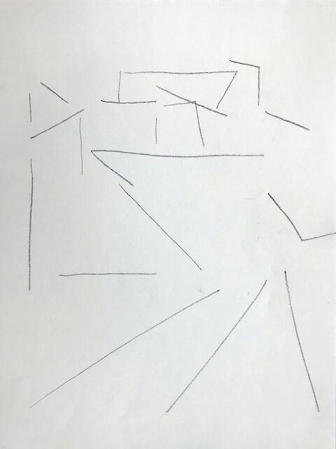 Sem título - 2018 - grafite sobre papel - 28 x 22 cm