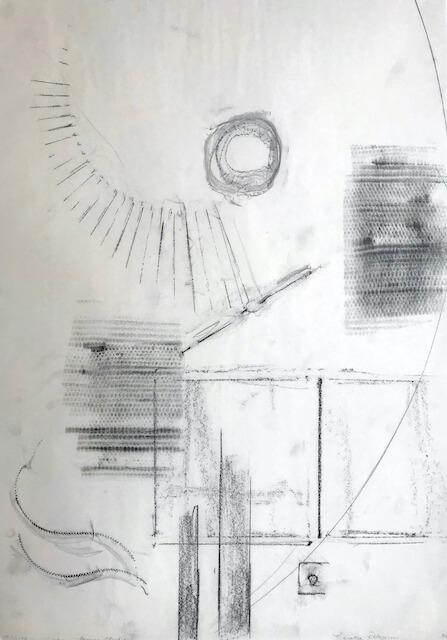 Sem título - 2018 - grafite sobre papel - 59 x 42 cm