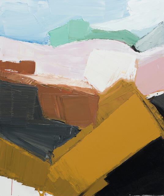 Sem título - 2019 - acrílica sobre tela - 120 x 100 cm