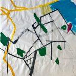 Sem título - 2019 - acrílica, grafite, giz e nanquim sobre papel