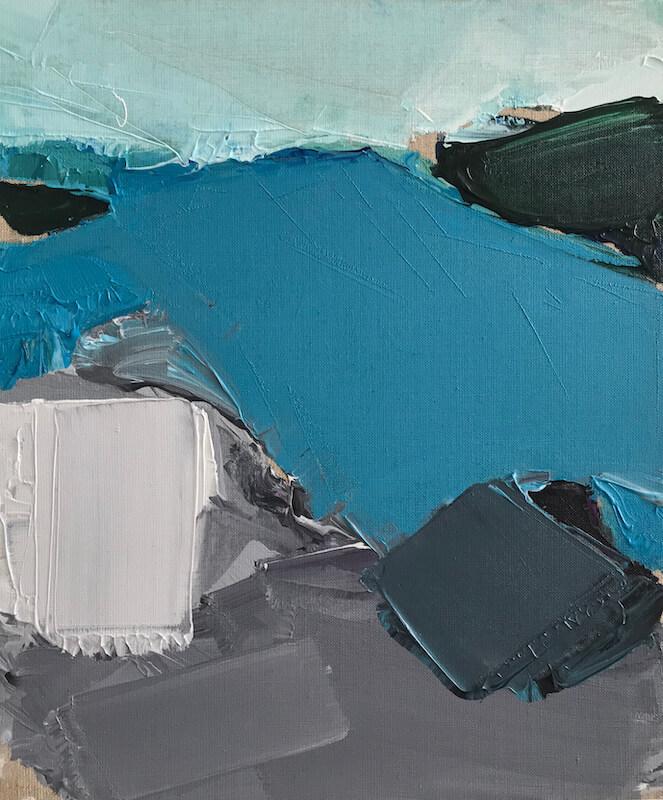 Sem título - 2019 - acrílica sobre linho - 60 x 50 cm