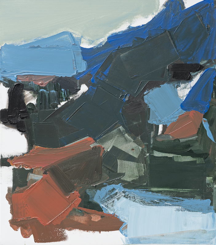 Untitled - 2019 - acrylic on canvas - 80 x 70 cm