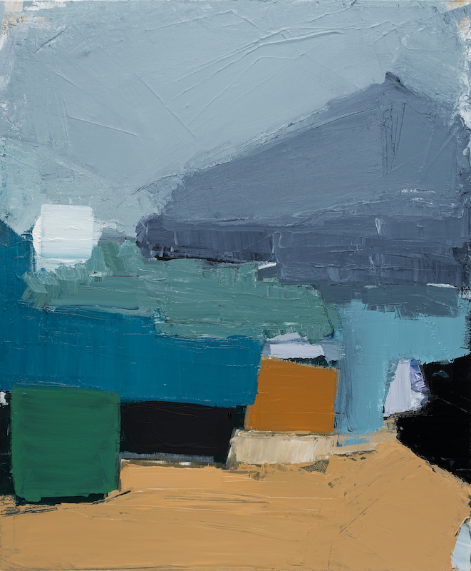 Untitled - 2019 - acrylic on canvas - 120 x 100 cm
